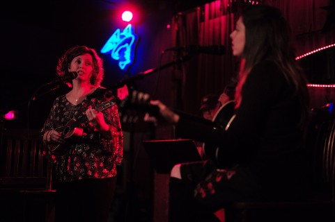 Folk Uke performs during their show at The Continental Club in Austin, Texas, on Thursday, Jan. 21, 2016.