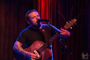 Bennett Playing at the Rattle Inn